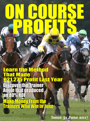On Course Profits - Free horse racing magazine cover
