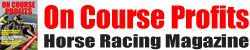 On Course Profits Horse Racing Magazine Logo